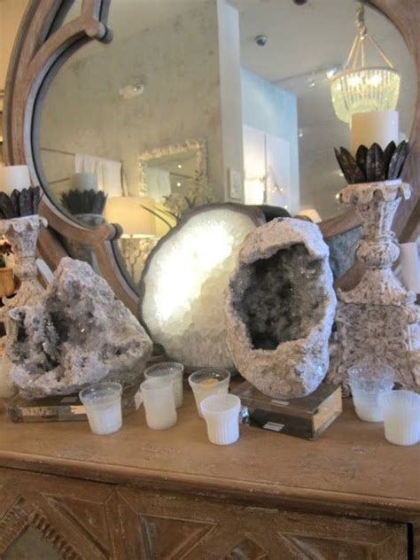 geode decor for the home