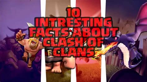 Clash Of Clans Fun Facts You Probably Didnt Know Troop | top 10 facts you probably didnt know about clash of clans