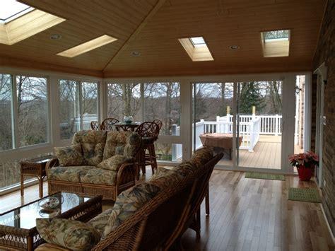 Inside Sunrooms Inside Sunroom 4 Season Sunroom