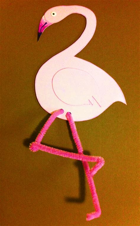 flamingo craft projects pink flamingo arts and crafts