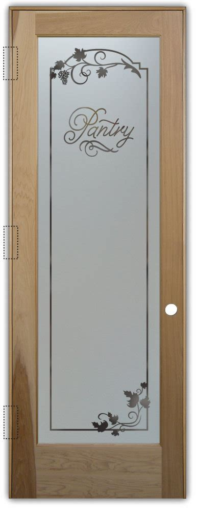 Frosted Pantry Door by Pantry Doors With Style Sans Soucie Glass