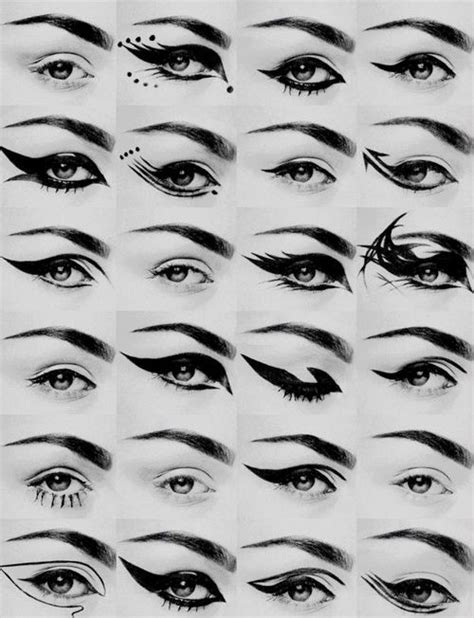 10 Ways To Wear Animal Graphics by Different Ways To Apply Eyeliner Beautify