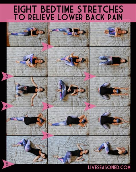 lower back stretches in bed 163 best back pain images on pinterest exercise workouts