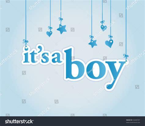 Baby Shower Celebration by Boy Baby Shower Celebration Light Blue Stock Vector