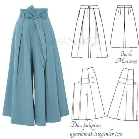 pattern making of palazzo pants 7255 best time to sew a coser images on pinterest