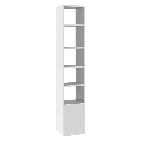 hohe regale kubrik white high gloss shelving unit buy now at