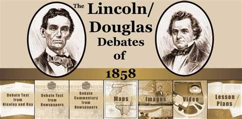 what was the topic of the lincoln douglas debates divided 187 post topic 187 lincoln douglas debates