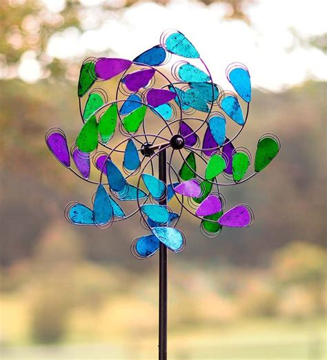 Garden Spinners And Decor 279 Best Wind Spinners Whirligigs Images On Pinterest