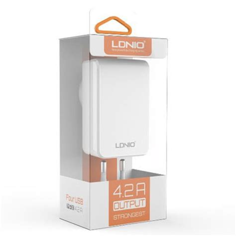 Charger Ldnio 34a 3usb Slot ldnio dl ac62 power charger 4 2a with 4 usb slots захранване с 4 usb изхода и мощност 4 2а