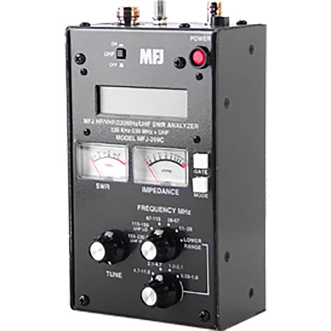 mfj mfj  mfj  swr antenna analyzer  khz    mhz continuous coverage