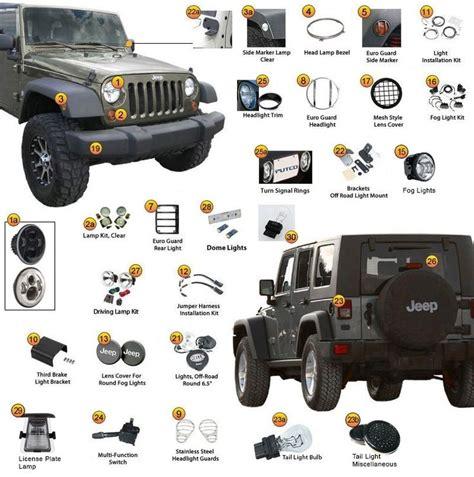 2007 Jeep Wrangler Parts 2007 Jeep Wrangler Parts Diagram Automotive Parts