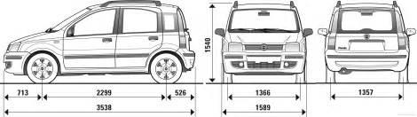 Fiat Panda Length The Blueprints Blueprints Gt Cars Gt Fiat Gt Fiat Panda