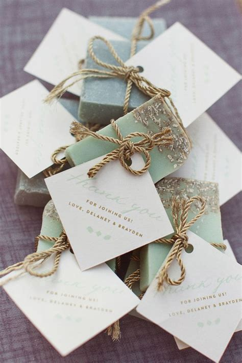 Handmade Wedding Souvenirs - 25 handmade wedding favors ideas on