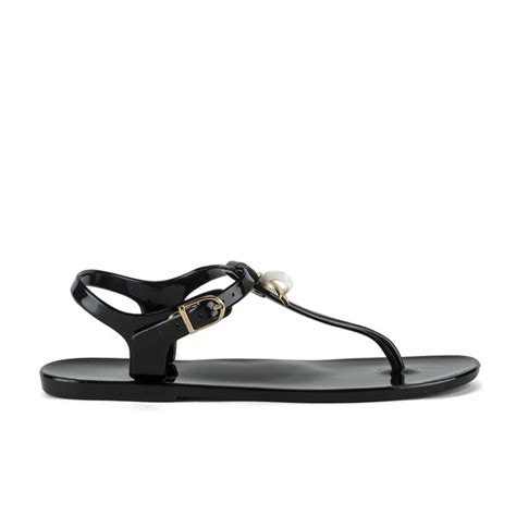 Ted Baker Jelly Sandal ted baker s verona bow jelly sandals black free uk delivery