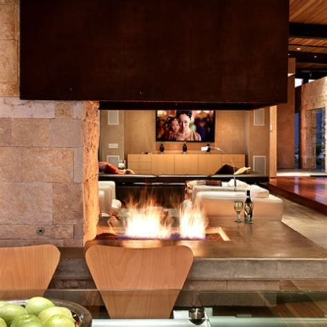 Indoor Firepits Indoor Pit House Interior Pinterest