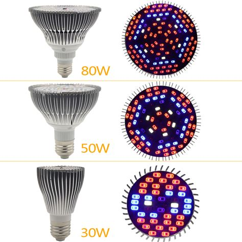 Murah Led Grow Light 30 Watt Sungetace 5 Watt Par20 Led Spotlight Bulbs Replacement 50w