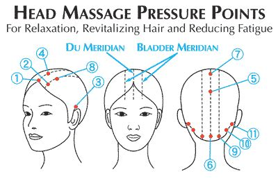 pressure points hair growth mytime health and beauty