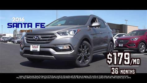 Lease A Hyundai Santa Fe by Best Hyundai Santa Fe Lease Deals Lamoureph