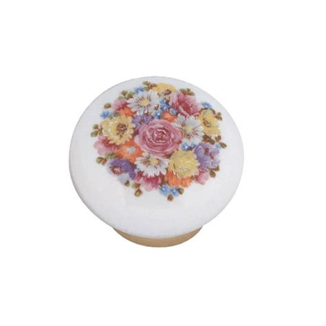 pomello ceramica pomello in ceramica 248 31 con mazzo di fiori
