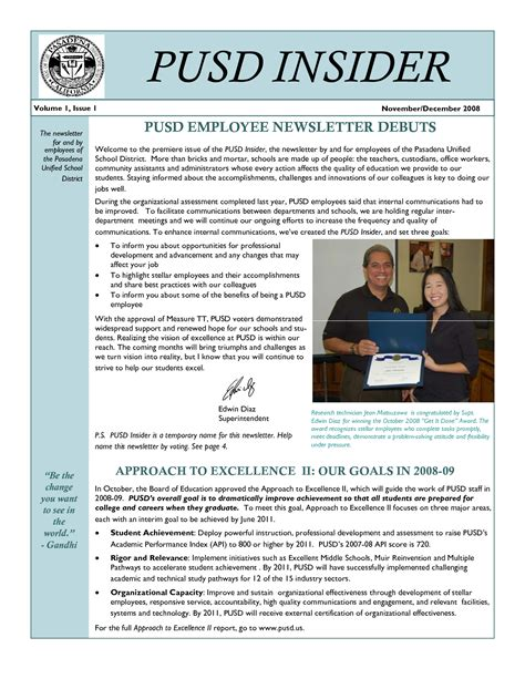 Employment News Letter Quotes For Employee Newsletter Quotesgram