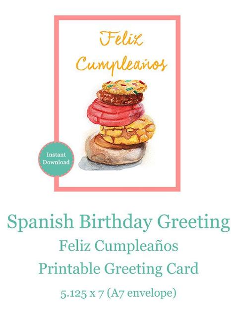free printable birthday cards espanol spanish birthday cards printable www pixshark com