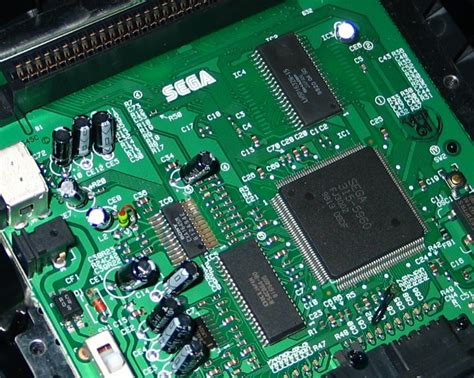 integrated circuit for genesis 3 s modify genesis 3 for rgb or s