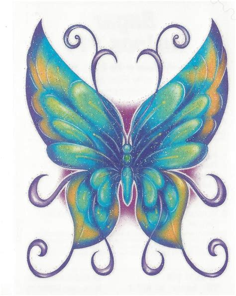ebay butterfly glitter butterfly temporary new ebay