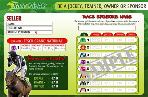printable race night tickets race nights fundraising events race night films race