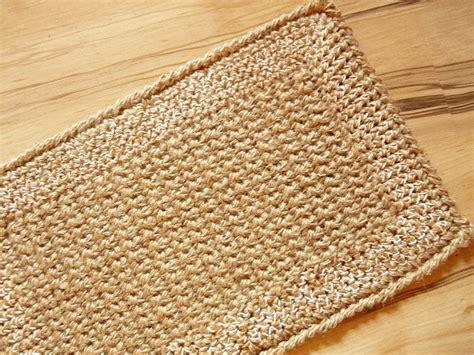 Crochet Doormat by Unique Doormat Crochet Jute Rope Door Rug Handmade