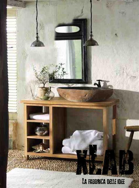 arredo bagno in legno mobile bagno in legno di larice american style sconto