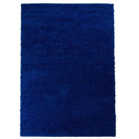 hochflor teppich blau teppich hochflor einfarbig shaggy uni 500 blau rund