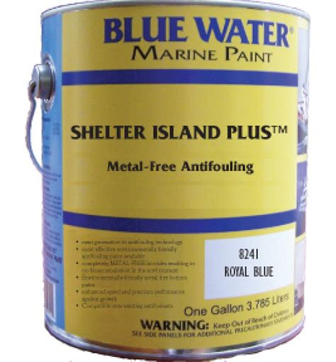 boat bottom paint salt water blue water marine shelter island plus copper free ablative
