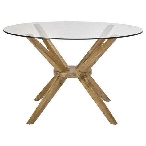 table noir et bois 25 best ideas about table ronde en verre on table ronde bois porte de garage en