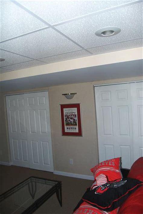 Insulating Basement Ceiling Benefits sagging basement ceiling insulation fiberglass insulation beginning to sag