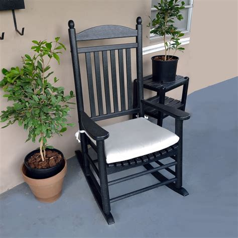 how to make rocking chair cushions polywood rocking chair seat cushions outdoor cushions