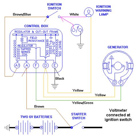 wiring diagram for automotive voltmeter wiring diagram