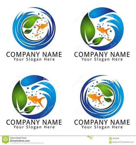 aquarium design eps stock photo fish aquarium logo image