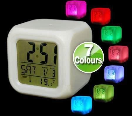 Jam Moody Kubus 7 Warnajam Digital Kubus dinomarket pasardino jual jam moody kubus berubah 7