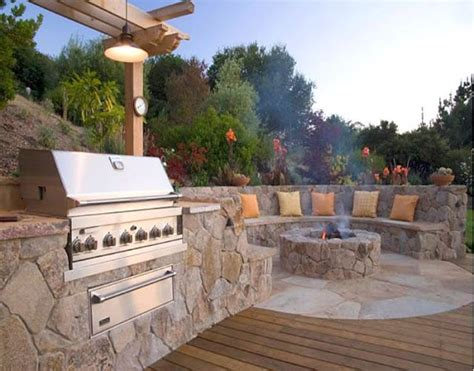 backyard bbq pit ideas fire pit by pool bbq side of house the great