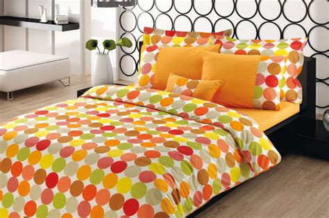 orange and green bedroom custom king size pumpkin orange yellow green grey by