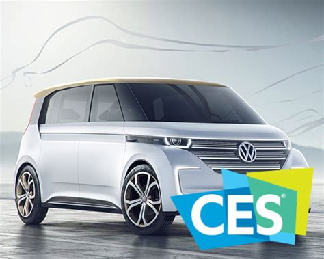 volkswagen microbus 2016 volkswagen launches electric microbus budd e at ces 2016