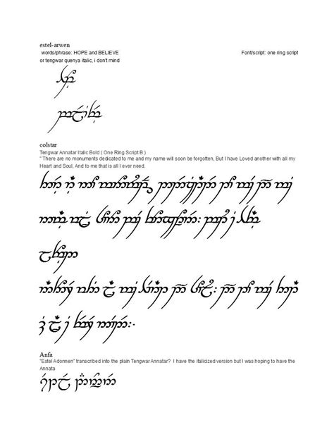 tattoo fonts elvish list of synonyms and antonyms of the word elvish designs