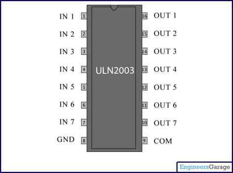 uln pin description current driver ic uln
