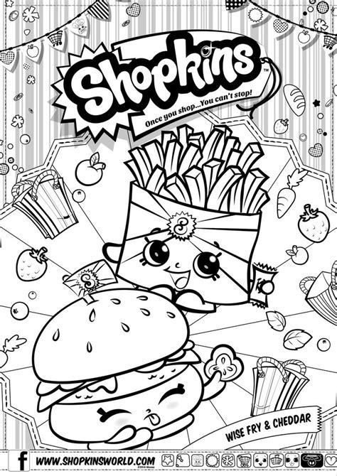Firgure Shopkins Season 6 Seri A free coloring pages of season 1 shopkins