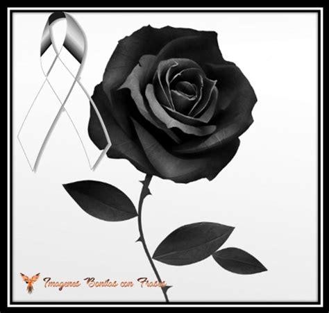 rosa de luto para portada de facebook lazos mo 241 os de luto con rosas negras para expresar duelo y