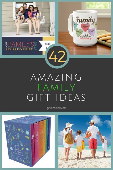 family gift ideas 42 great family gift ideas presents for families