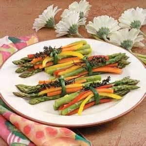 spring vegetable bundles recipe easter vegetables and