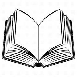 Open book outline clipart clipart panda free clipart images