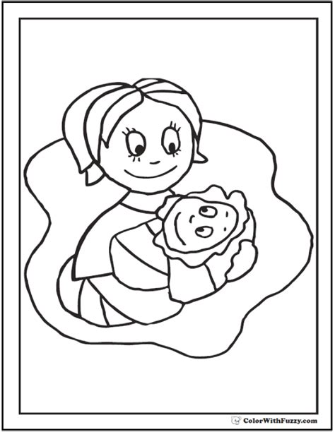 45 mothers day coloring pages print and customize for mom