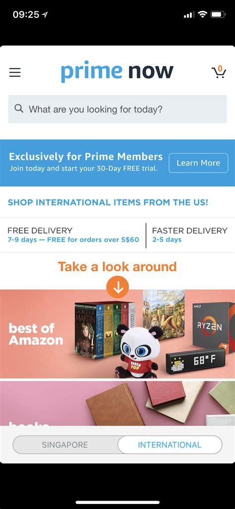 amazon in singapore amazon launches amazon prime in singapore 171 blog